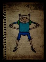 Finn - Adventure Time by KellCandido