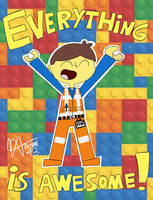 The Lego Movie - Emmet by Renan43