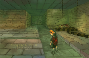 LoZ: Bottom of the Well by saltycatfish