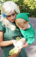 Link and his Mother 02 by HeatherCosplay
