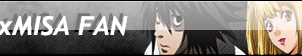 LxMisa (Death Note) Fan button by ShadamyFan4everS