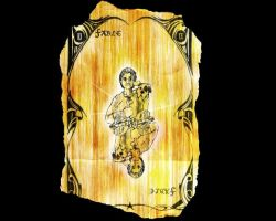 Fable 2 Tarot card by Seblecaribou