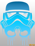 Dripping Stormtrooper by TheThemePark