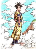 Dragon Ball - Gohan by A2theMuthafukkinK
