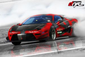 Ferrari 458 Drift by james007bond35
