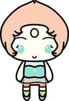 Kawaii Pearl (Steven Universe) by amis0129