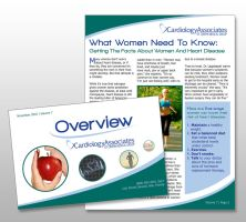 Overview Newsletter Design by drumcirclecreative
