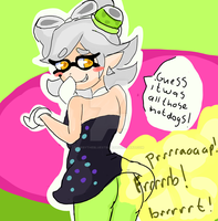 Marie by KirbyTheBluestBlue