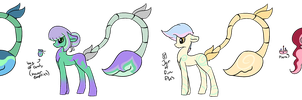Plant Pony Adopts OTA :OPEN: by Sky-draws-things