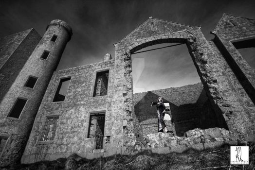 Slains castle 04 by photopozza