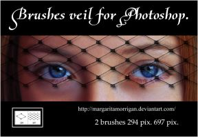 brushes veil for photoshop by Margaritamorrigan