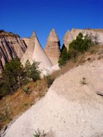 More Tent Rock Hoodoos by Geotripper