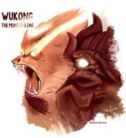 Wukong, the monkey king by SophieOTTO