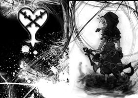 Heartless Sora Wallpaper by bloodyamore