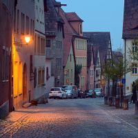 Morning in Rothenburg ob der Tauber IV by mannromann