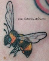 Realistic Bee by Melissa-Capo