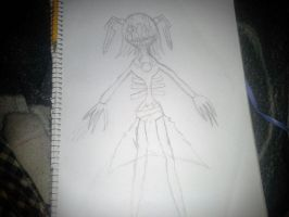 Hollow-Marionne WIP (FNAF Fusion Drawings) by Stormtali