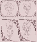 [ r ] Chibis by Kii-hime