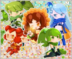 Plants vs zombies plants girls 4 years ago in games