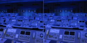 Stereo NASA control panels by RogerStork
