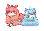 Cotton Sheep 1+2 [Free to Use] by BaseAdopts