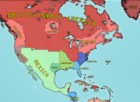 Alternate North America 1860 by LS-Jebus