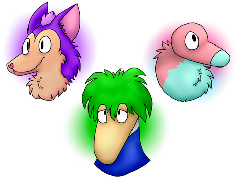 the three chosen species by HiImFromTransformice