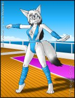 Isinia on Deck by tydrian