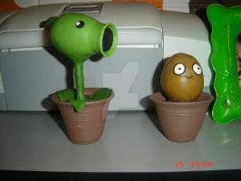 Plants Vs Zombies by Metaplasmico