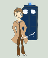 D12D - Dr Who and Tardis by Rose-Rayne