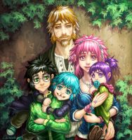 Raising Harry Part II (Remus/Tonks) by hueco-mundo