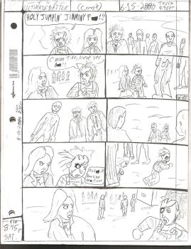 THE ULTIMATE BATTLE pg.167 by DW13-COMICS