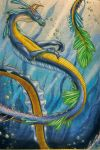 Water Dragon by Blue-Moon-Angel
