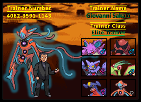 Giovanni Trainer Card by Rudolphtheehcidna