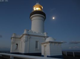 Cape Byron Lighthouse - Night 3 by JohnK222