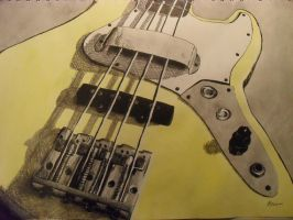 painting- Guitar 1 by Destroma