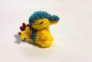 Amigurumi Cyndaquil (Pattern and doll for sale!) by Rienei
