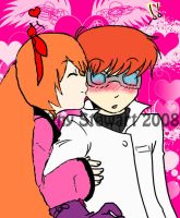 blossom and dexter by aylincita2498