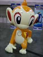Inflatable Chimchar by RoccoBertucci