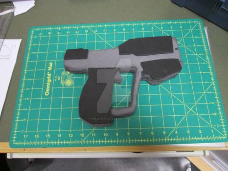Making A Halo Magnum Pistol (WIP-2) by EvilWheatley