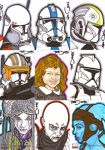 Star Wars Galaxy 4 Batch 1 by NORVANDELL