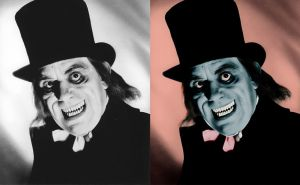 Lon Chaney - before after by B-D-I