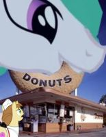 Pony Joe pays up his Taxes to Princess Celestia by OceanRailroader