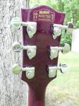 Kraken Legion 3 Trans Purple 2013 headstock back by fullonshred