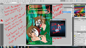 Virus!CryVSCry coloring [WIP4] by EvilVixen05