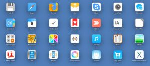 iOS 7 style flat icons by TigerCat-hu