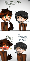 make a run for it Eren by adventures098