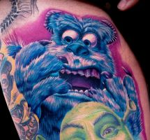sully monsters inc by tat2istcecil