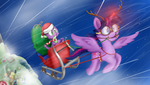 A Ponyville Christmas by 041744