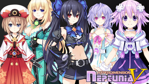 Neptunia V - Wallpaper 1 by karto1989